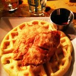 chicken & waffles are awesome!!