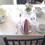 Our Tea Table