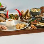 Balinese cuisine set menu