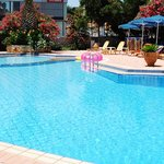 Swimming pool at Lefka apartments