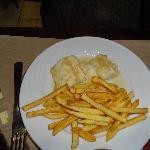 cabillaud/frites