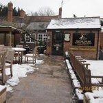 Snowy Sunday Afternoon -- Nice Warm Pub