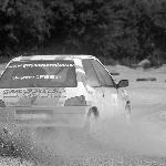 Sideways at Glos Rally School