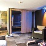 Espace détente avec Sauna et Spa