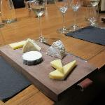 Cheese plate - delicious !