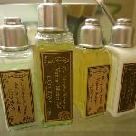 Nice French bath products