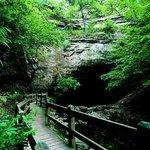 Rock Bridge Memorial State Park Foto