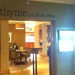 Thyme, in house restaurant