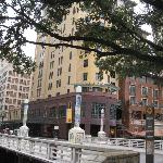 hotel from riverwalk