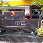 Warm Welcome and Cool Staff @ The Aliga Hotel, Padang