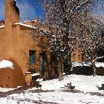 snowy in february