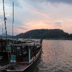5 minute to Mekong river