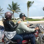 Motorbike ride along Danang Beach