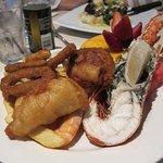 Pelican Tavern Lobster Meal