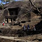 Kanheri Caves from the Entry Side