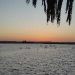 Fatnas Island, Siwa at sunset