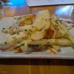 Jicama and apple salad
