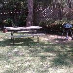 Picnic Area by Waterfront Apartment #9