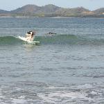 Surfin in Tamarindo
