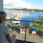 vista da camera sulle lagune