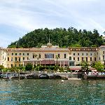 The Grand Hotel from the lake