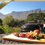 Al Fresco dining with a view of one of the 7 Wonders of the World, Table Mountain
