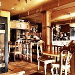 Juliet's Cafe interior