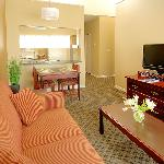 Livin/Dining/Kitchen One Bedroom Suite
