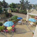 African Rainbow Resort - From The Balcony