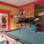 African Rainbow Resort - Bar & Pool Table
