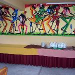 Artwork in the Dinning Area.