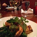 Wild shrimp and scallops, chimichurri