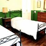 camera doppia verde