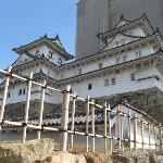 Himeji castle .Its just a part of it However this is the most visible