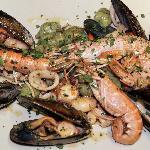 gnocchi al basilico ai frutti di mare