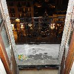 Room 52 - View onto the balcony