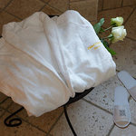 Hotel Golden Rome Ropes and Slippers in the Double Superior Rooms/Junior Suites/ Family Suites