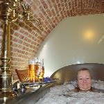 Bier bath
