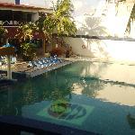 Vista desde la Habitacion (piscina del hotel)