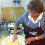 Making Tortelli di Patate, a typical Mugello dish