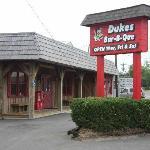 Duke's BBQ Sign