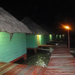 akwadup lodge at night
