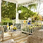Enjoy beautiful views from the porch!
