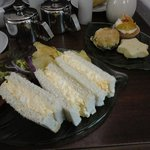 Luncheon Tea at Cafe
