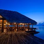 Lagoon Restaurant - Night view