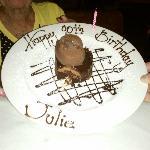 Dessert for Mom's 90th Birthday