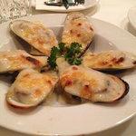 NZ Baked mussels