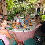 Dinner in homestay Heru