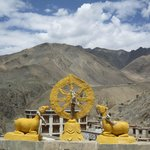 the gompa