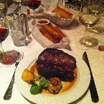 A great steak dinner!!!